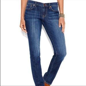 Lucky Brand jeans, sweet straight style size 8